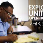 Explore United Open House - April 9, 2019